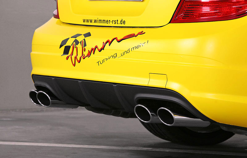 Mercedes-benz C63 AMG by Wimmer RS: - fotka 12