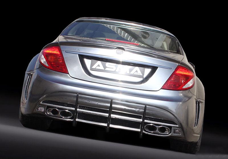 ASMA Design Phantasma CL: drastická proměna CL 65 AMG: - fotka 7