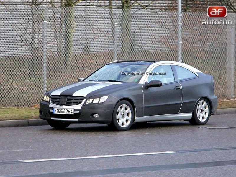 Spy photos: Mercedes CLC – S dobou půjde pouze design: - fotka 1