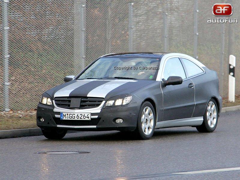 Spy photos: Mercedes CLC – S dobou půjde pouze design: - fotka 2