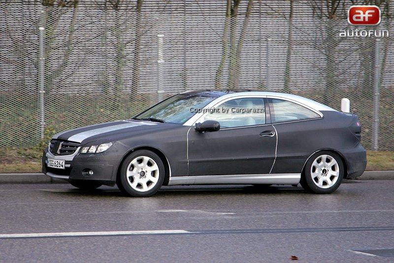 Spy photos: Mercedes CLC – S dobou půjde pouze design: - fotka 3
