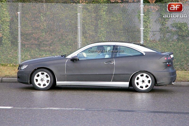 Spy photos: Mercedes CLC – S dobou půjde pouze design: - fotka 4
