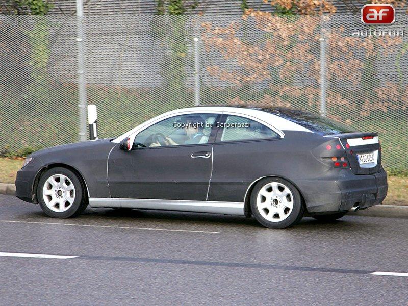 Spy photos: Mercedes CLC – S dobou půjde pouze design: - fotka 6