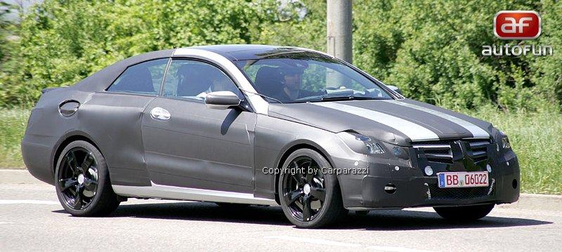 Spy Photos: Mercedes-Benz CLK (nové foto): - fotka 1