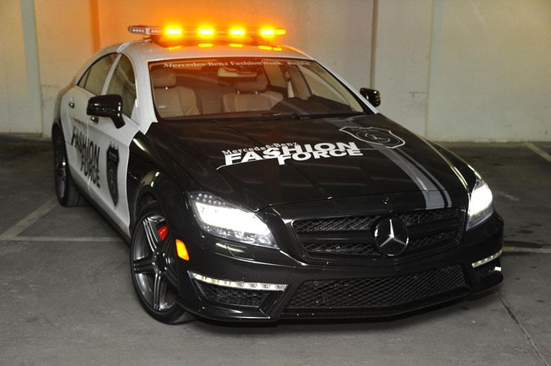 Mercedes-Benz CLS 63 AMG Fashion Force: ve službách módní policie: - fotka 1