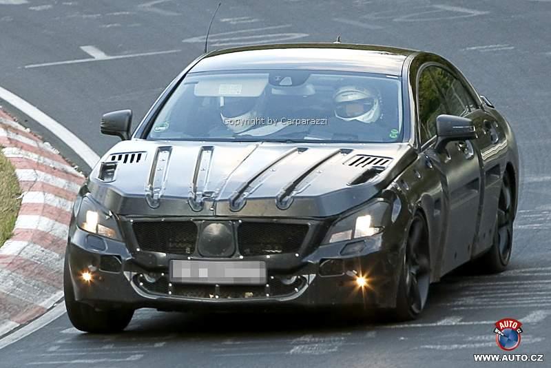 Spy Photos: Mercedes-Benz CLS 63 AMG: - fotka 1