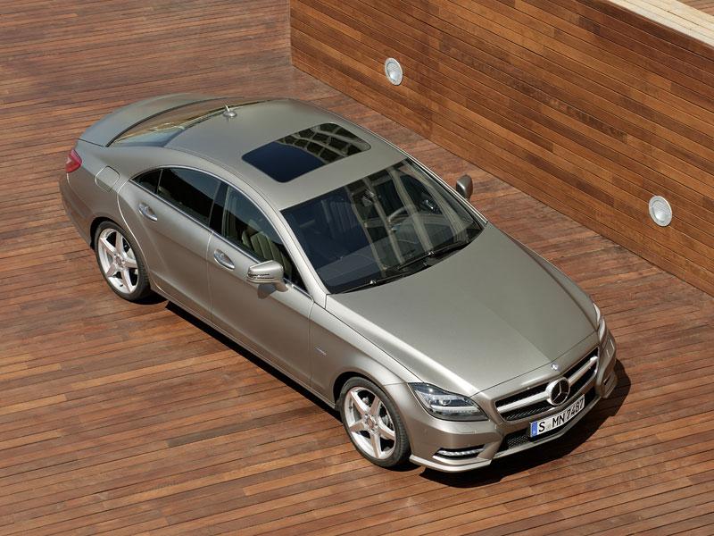 Mercedes-Benz CLS: Nové informace o motorech a fotogalerie: - fotka 4