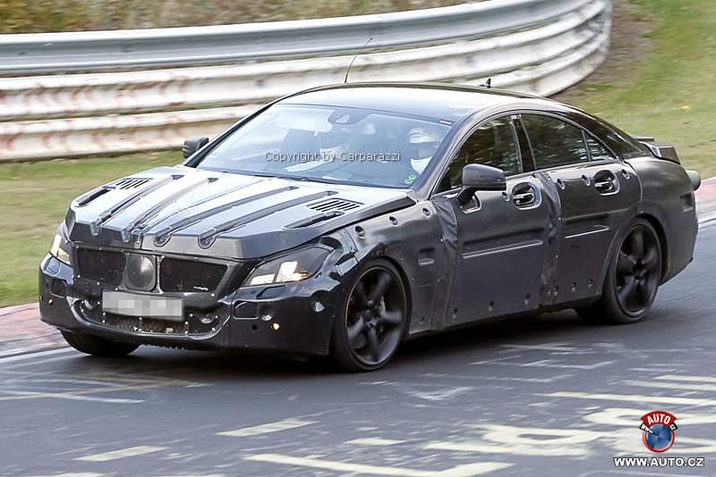 Spy Photos: Mercedes-Benz CLS 63 AMG: - fotka 2
