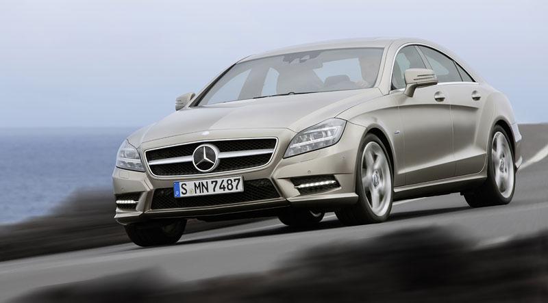Mercedes-Benz CLS: Nové informace o motorech a fotogalerie: - fotka 5