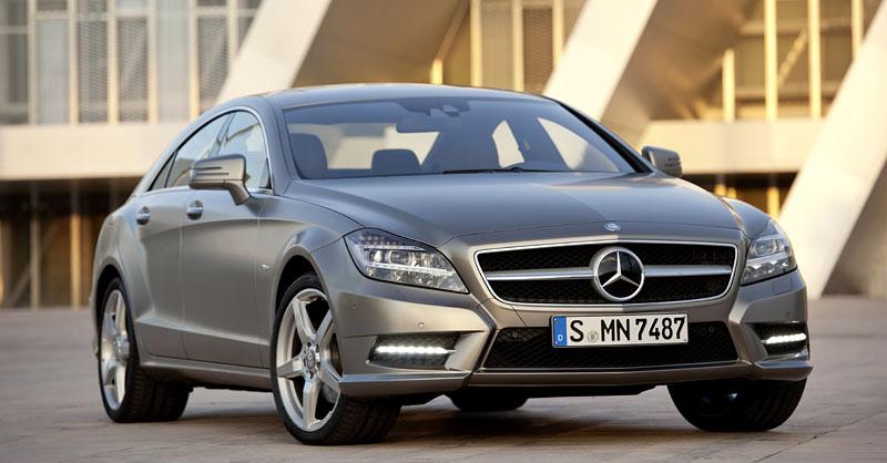 Mercedes-Benz CLS: Nové informace o motorech a fotogalerie: - fotka 6