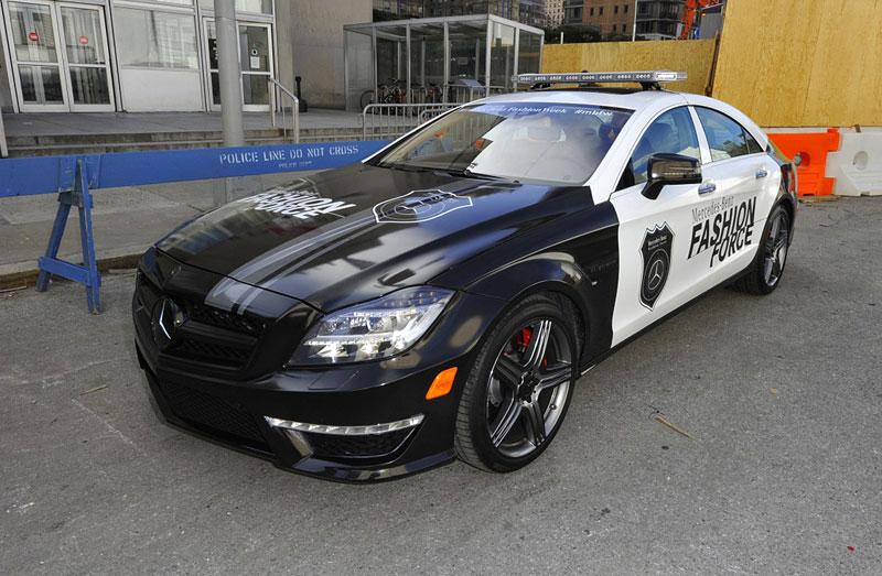 Mercedes-Benz CLS 63 AMG Fashion Force: ve službách módní policie: - fotka 3
