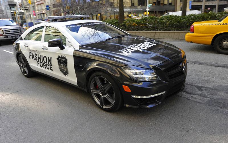 Mercedes-Benz CLS 63 AMG Fashion Force: ve službách módní policie: - fotka 4