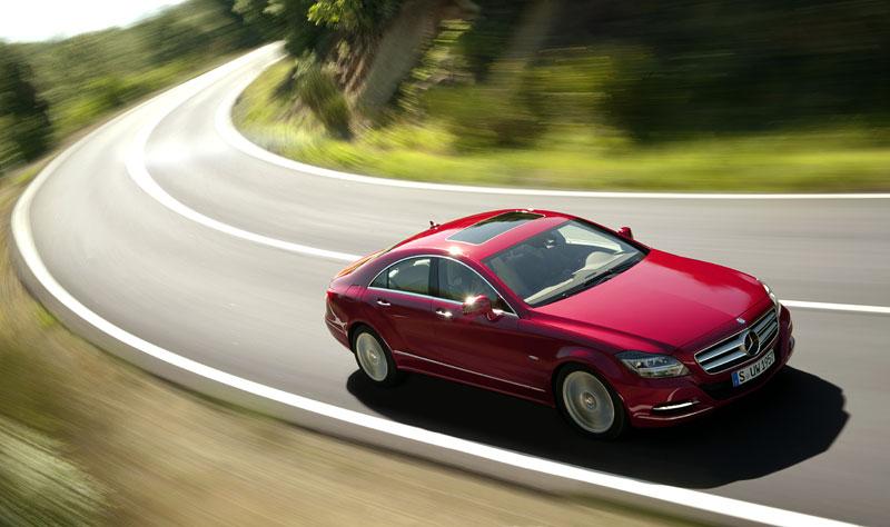 Mercedes-Benz CLS: Nové informace o motorech a fotogalerie: - fotka 8