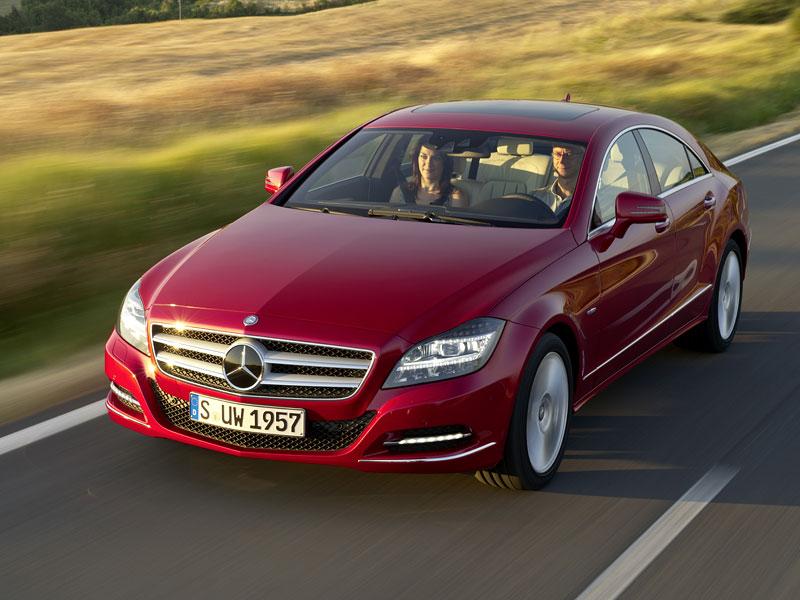 Mercedes-Benz CLS: Nové informace o motorech a fotogalerie: - fotka 10