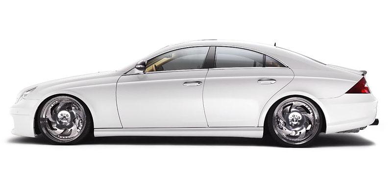 Mercedes-Benz CLS 55 AMG: třpytivá úprava od WaM: - fotka 6