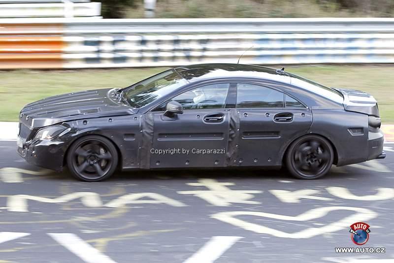 Spy Photos: Mercedes-Benz CLS 63 AMG: - fotka 3