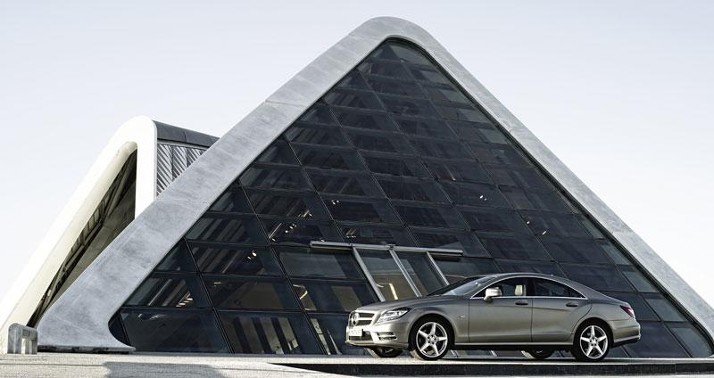 Mercedes-Benz CLS: Nové informace o motorech a fotogalerie: - fotka 11