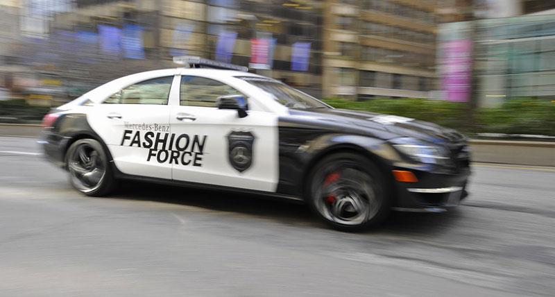 Mercedes-Benz CLS 63 AMG Fashion Force: ve službách módní policie: - fotka 7