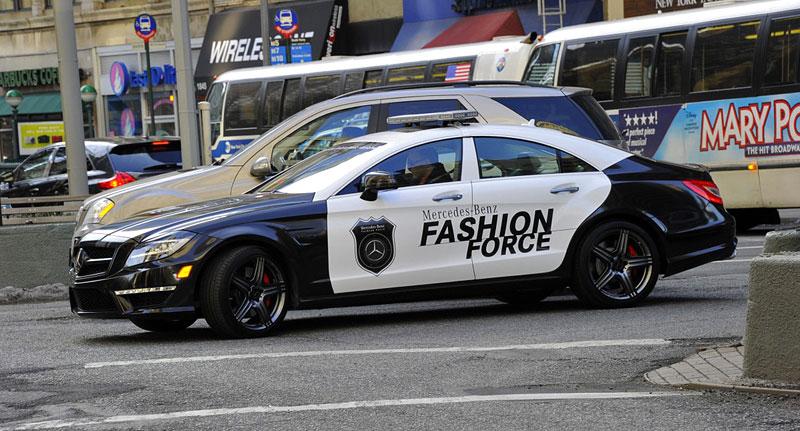 Mercedes-Benz CLS 63 AMG Fashion Force: ve službách módní policie: - fotka 8