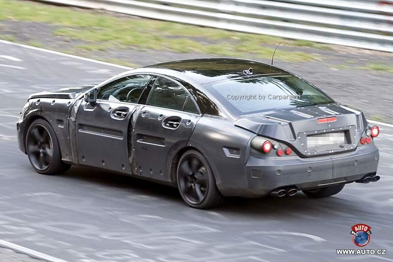 Spy Photos: Mercedes-Benz CLS 63 AMG: - fotka 4