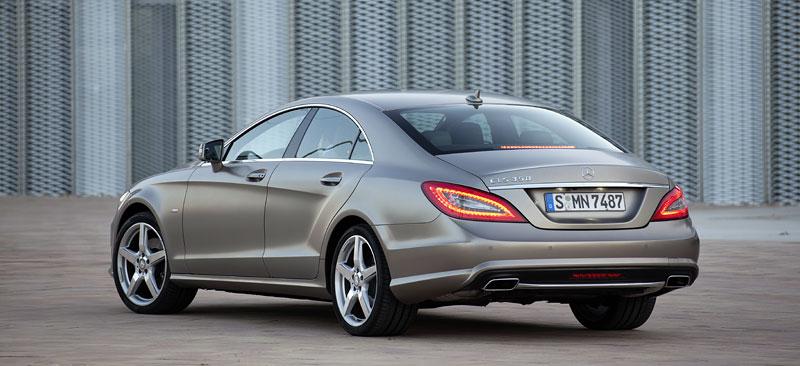 Mercedes-Benz CLS: Nové informace o motorech a fotogalerie: - fotka 14