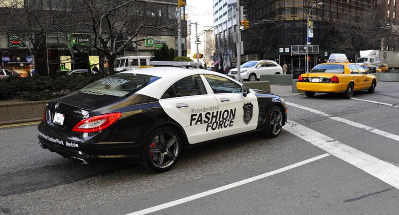 Mercedes-Benz CLS 63 AMG Fashion Force: ve službách módní policie: - fotka 9