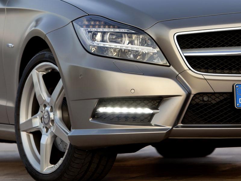 Mercedes-Benz CLS: Nové informace o motorech a fotogalerie: - fotka 16