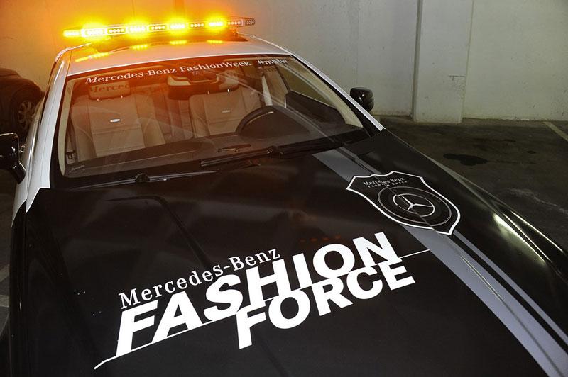 Mercedes-Benz CLS 63 AMG Fashion Force: ve službách módní policie: - fotka 11
