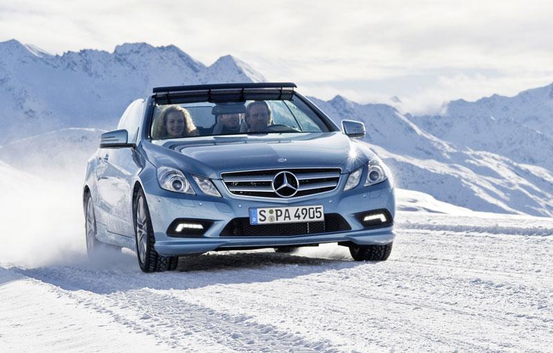 Ženeva 2010 živě: Mercedes-Benz E Cabriolet: - fotka 27
