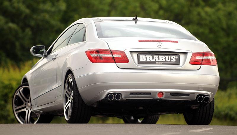 Mercedes-Benz E Coupe od Brabusu: hlavně nenápadně: - fotka 8