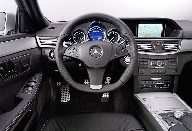 Mercedes-Benz třídy E: nový AMG paket pro novou generaci: - fotka 1