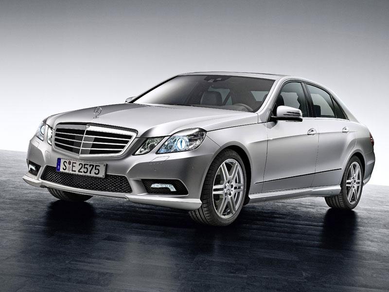 Mercedes-Benz třídy E: nový AMG paket pro novou generaci: - fotka 4