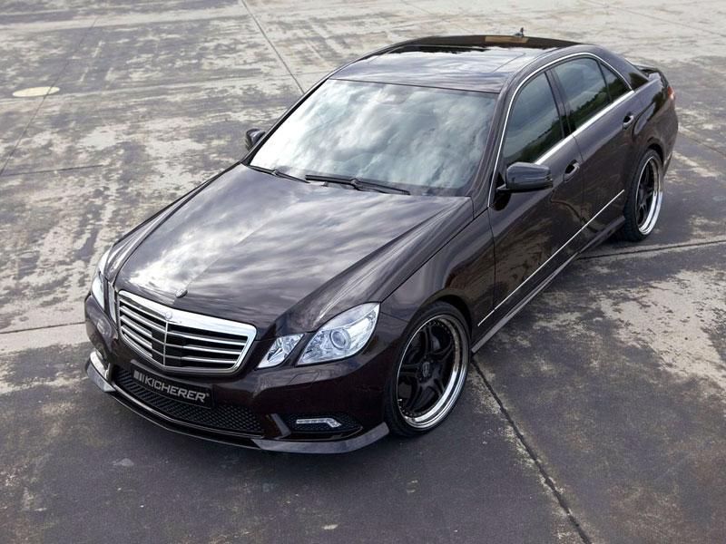 Mercedes-Benz třídy E: elegance a sport by Kicherer: - fotka 5