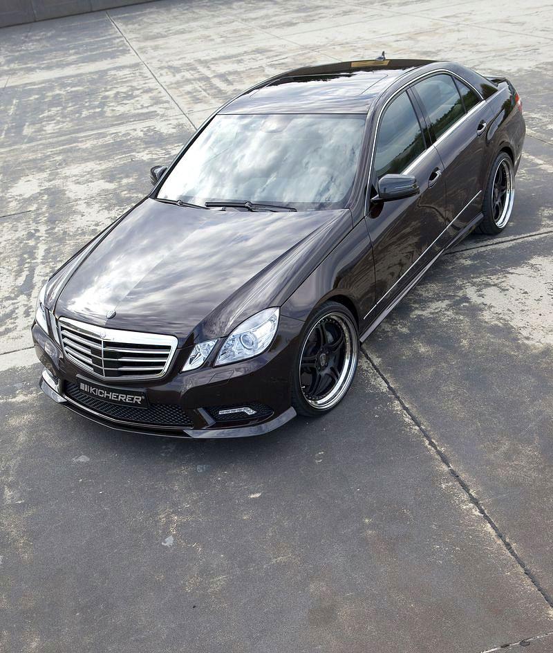 Mercedes-Benz třídy E: elegance a sport by Kicherer: - fotka 6