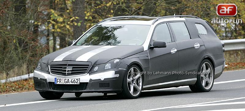 Spy Photos: Mercedes-Benz E63 AMG Combi: - fotka 3