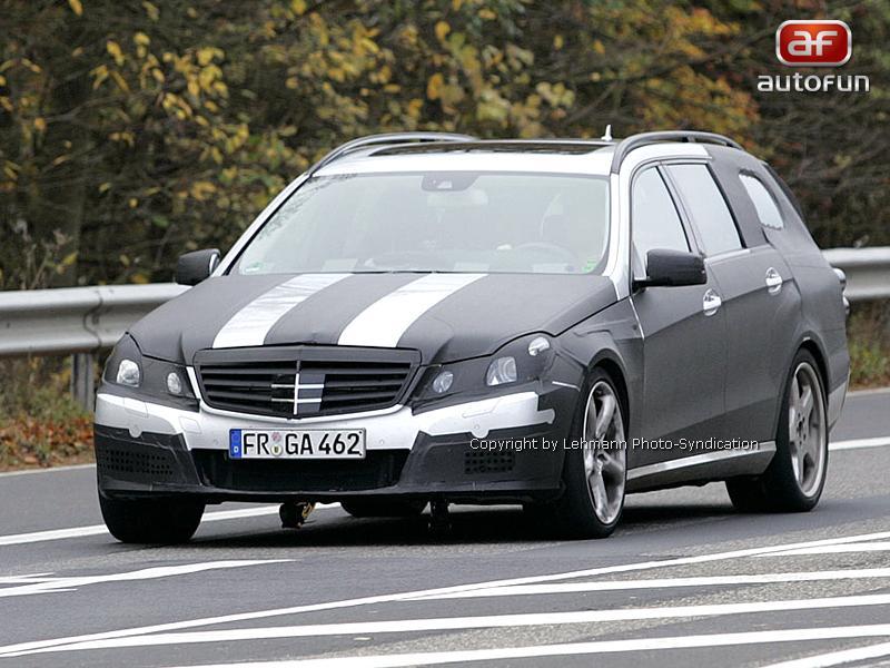 Spy Photos: Mercedes-Benz E63 AMG Combi: - fotka 4