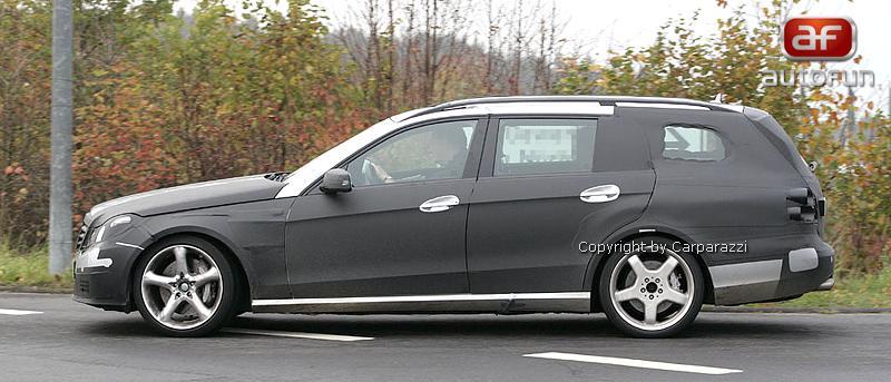Spy Photos: Mercedes-Benz E63 AMG Combi: - fotka 5