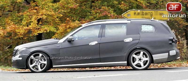 Spy Photos: Mercedes-Benz E63 AMG Combi: - fotka 6