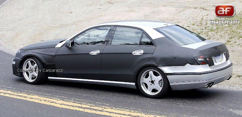 Spy Photos: Mercedes E63 AMG: - fotka 11