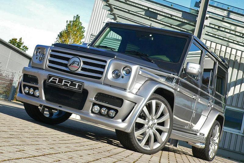 A.R.T. Street Sterling: ochočený Mercedes G: - fotka 9