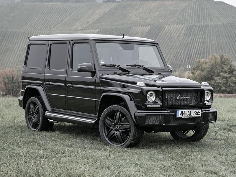 Lorinser zušlechťuje modernizovaný Mercedes-Benz G 500: - fotka 2