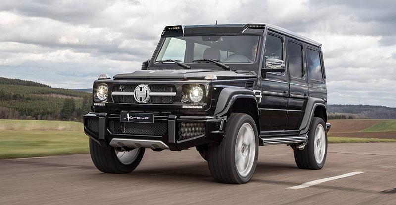 Mercedes-Benz G jako Hofele Design G-Cross: - fotka 3