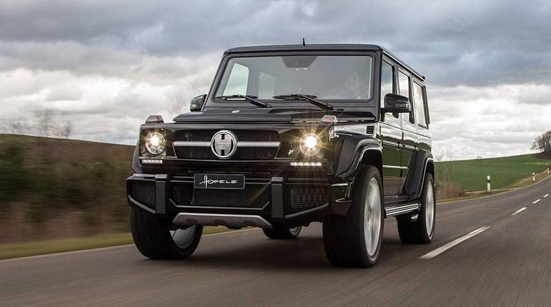 Mercedes-Benz G jako Hofele Design G-Cross: - fotka 5