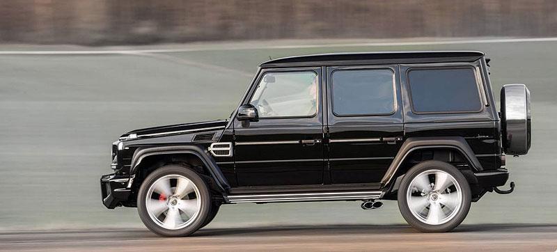 Mercedes-Benz G jako Hofele Design G-Cross: - fotka 7