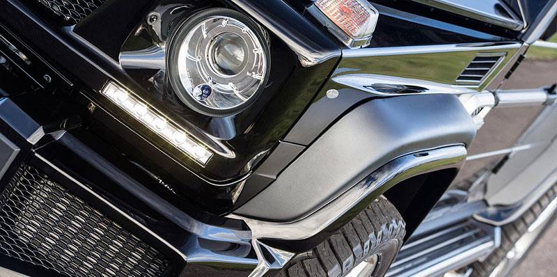 Mercedes-Benz G jako Hofele Design G-Cross: - fotka 9