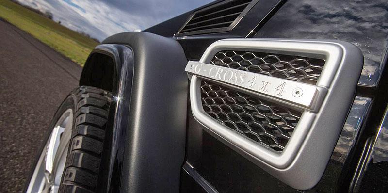 Mercedes-Benz G jako Hofele Design G-Cross: - fotka 10
