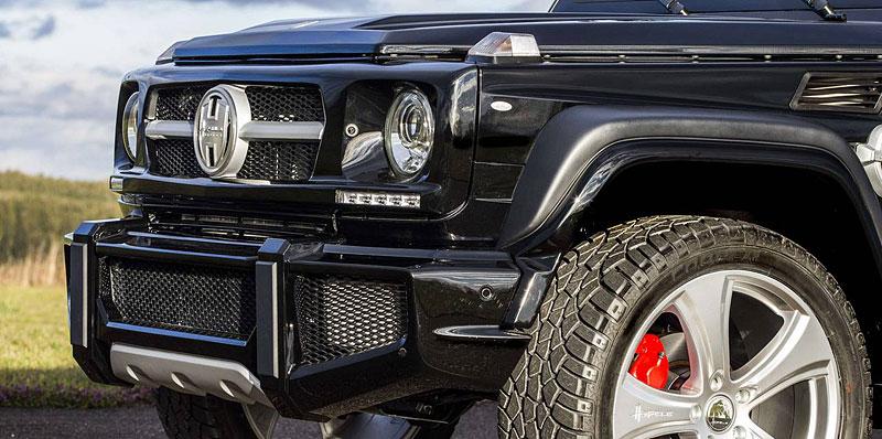 Mercedes-Benz G jako Hofele Design G-Cross: - fotka 11