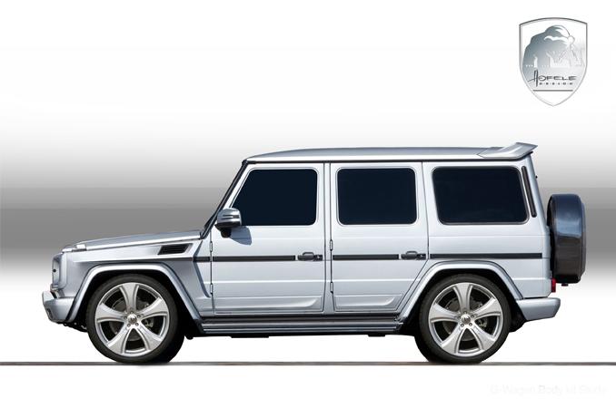 Mercedes-Benz G jako Hofele Design G-Cross: - fotka 15