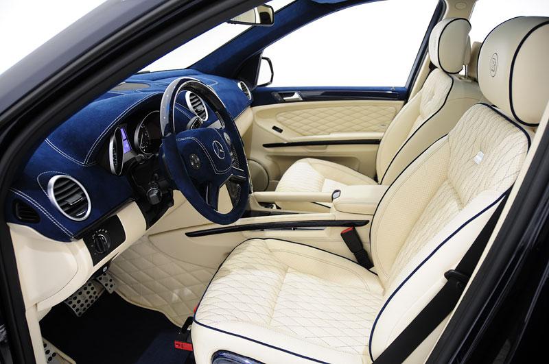 Mercedes-Benz GL: Brabus upravuje faceliftované SUV: - fotka 2