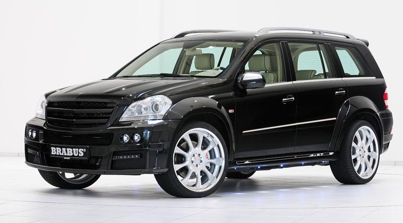 Mercedes-Benz GL: Brabus upravuje faceliftované SUV: - fotka 4